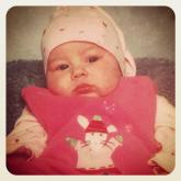 My daughter Gia was born on November 20, 2000 - she was 6 weeks old in this picture